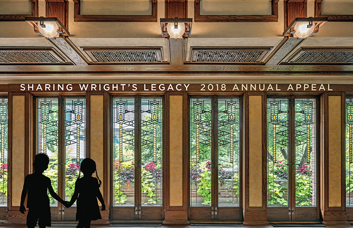 Sharing Wright's Legacy - 2018 Annual Appeal